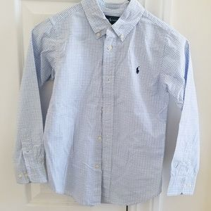 Ralph Lauren size 7 buttoned down shirt